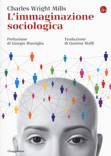 L' immaginazione sociologica - Charles Wright Mills - copertina