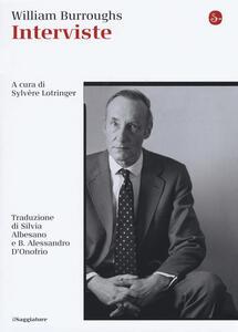 Interviste - William Burroughs - copertina