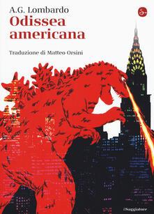 Odissea americana - A. G. Lombardo - copertina