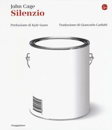 Silenzio - John Cage - copertina