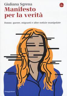 Manifesto per la verità - Giuliana Sgrena - copertina