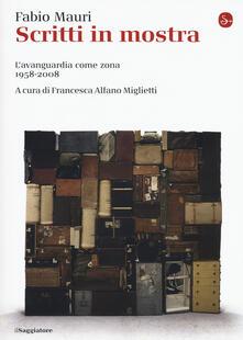 Steamcon.it Scritti in mostra. L'avanguardia come zona 1958-2008 Image