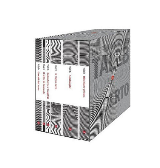 Incerto - Nassim Nicholas Taleb - copertina