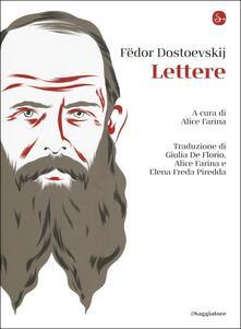 Lettere - Fëdor Dostoevskij - copertina