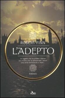 L' adepto - Robert Finn - copertina
