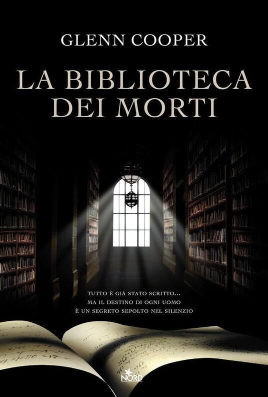 La biblioteca dei morti - Glenn Cooper - copertina