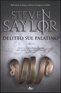 Libro Delitto sul Palatino Steven Saylor