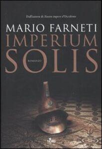 Libro Imperium solis Mario Farneti