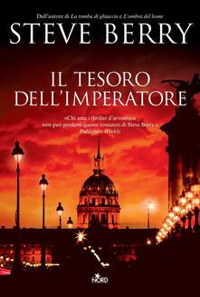Il tesoro dell'imperatore - Steve Berry - copertina