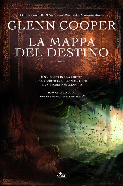 La mappa del destino - Glenn Cooper - copertina