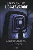 Libro L' osservatore Franck Thilliez