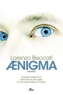 Aenigma - Lorenzo Beccati - copertina