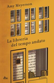 La libreria del tempo andato - Amy Meyerson - copertina