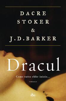 Dracul - Dacre Stoker,J. D. Barker - copertina