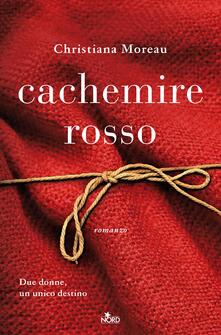 Cachemire rosso - Christiana Moreau - copertina