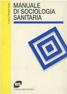 Camfeed.it Manuale di sociologia sanitaria Image