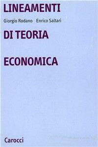 Lineamenti di teoria economica