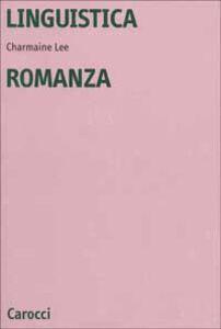 Libro Linguistica romanza Charmaine Lee