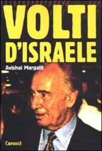 Foto Cover di Volti d'Israele, Libro di Avishai Margalit, edito da Carocci