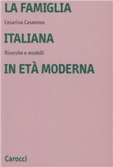 Antondemarirreguera.es La famiglia italiana in età moderna. Ricerche e modelli Image