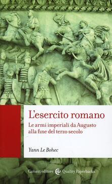 L' esercito romano -  Yann Le Bohec - copertina