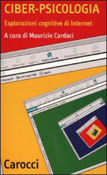 Antondemarirreguera.es Ciber-psicologia. Esplorazioni cognitive di Internet Image