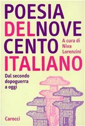 Poesia del Novecento italiano. Dal secondo dopoguerra a oggi