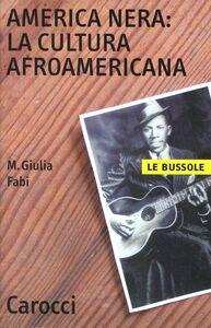 Libro America nera: la cultura afro-americana M. Giulia Fabi