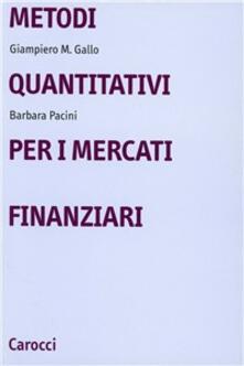 Listadelpopolo.it Metodi quantitativi per i mercati finanziari Image