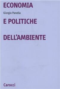 Economia e politiche dell'ambiente