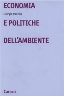 Economia e politiche dell'ambiente - Giorgio Panella - copertina