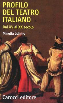 Filippodegasperi.it Profilo del teatro italiano dal XV al XX secolo Image