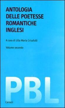 Antondemarirreguera.es Antologia delle poetesse romantiche inglesi. Testo inglese a fronte Image