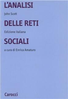 Fondazionesergioperlamusica.it L' analisi delle reti sociali Image