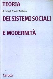 Teoria dei sistemi sociali e modernità