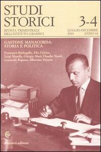 Studi storici (2003) vol. 3-4