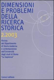 Antondemarirreguera.es Dimensioni e problemi della ricerca storica. Rivista del Dipartimento di storia moderna e contemporanea dell'Università degli studi di Roma «La Sapienza» (2003). Vol. 2 Image