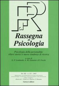 Rassegna di psicologia (2003) vol. 2-3