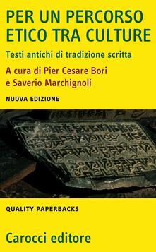 Filippodegasperi.it Per un percorso etico tra culture. Testi antichi di tradizione scritta Image
