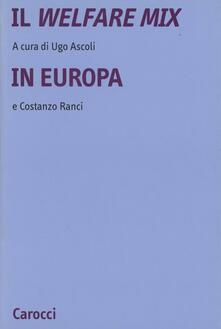 Vastese1902.it Il welfare mix in Europa Image