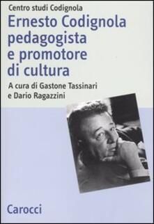 Filippodegasperi.it Ernesto Codignola pedagogista e promotore di cultura Image