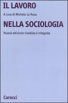 Equilibrifestival.it Il lavoro nella sociologia Image