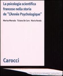 Osteriacasadimare.it La psicologia scientifica francese nella storia de «L'Année Psychologique» Image