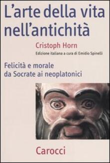 Promoartpalermo.it L' arte della vita nell'antichità. Felicità e morale da Socrate ai neoplatonici Image