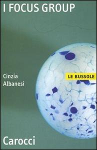 Libro I focus group Cinzia Albanesi