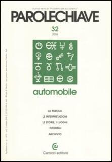 Radiosenisenews.it Parolechiave (2004). Vol. 32: Automobile. Image