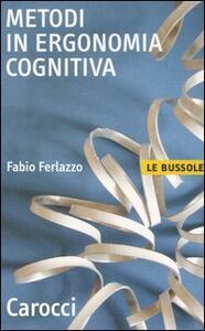 Metodi di ergonomia cognitiva - Fabio Ferlazzo - copertina