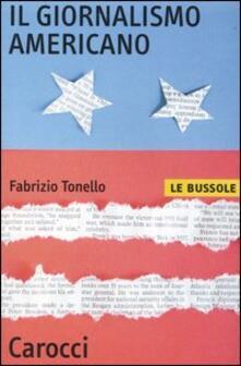 Il giornalismo americano -  Fabrizio Tonello - copertina