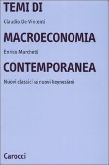 Lpgcsostenible.es Temi di macroeconomia contemporanea. Nuovi classici vs nuovi keynesiani Image