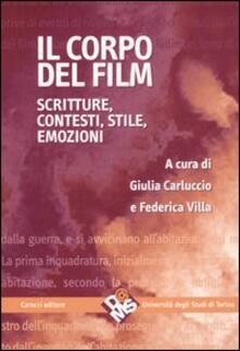 Squillogame.it Il corpo del film. Scritture, contesti, stile, emozioni Image
